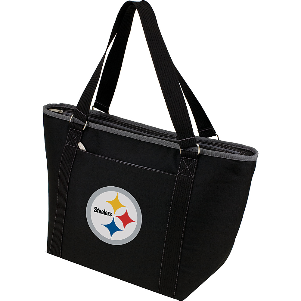 Picnic Time Pittsburgh Steelers Topanga Cooler Pittsburgh Steelers Black - Picnic Time Outdoor Coolers - Outdoor, Outdoor Coolers