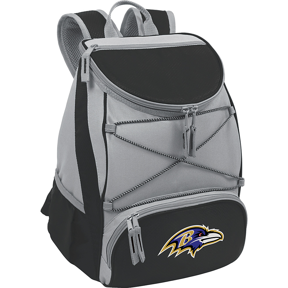 Picnic Time Baltimore Ravens PTX Cooler Baltimore Ravens Black - Picnic Time Outdoor Coolers - Outdoor, Outdoor Coolers