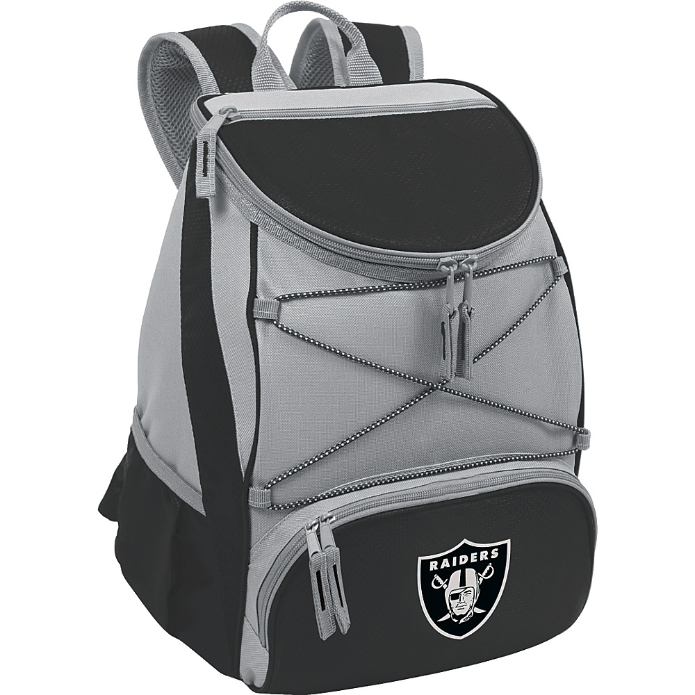 Picnic Time Oakland Raiders PTX Cooler Oakland Raiders Black - Picnic Time Outdoor Coolers - Outdoor, Outdoor Coolers