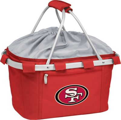 Picnic Time Picnic Time San Francisco 49ers Metro Basket San Francisco 49ers Red - Picnic Time Outdoor Coolers