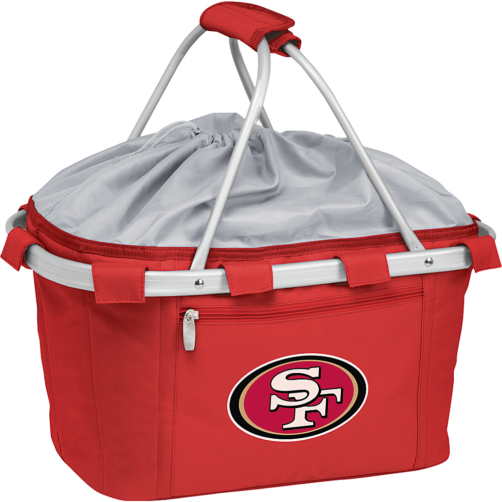 Picnic Time San Francisco 49ers Metro Basket San Francisco 49ers Red - Picnic Time Outdoor Coolers - Outdoor, Outdoor Coolers