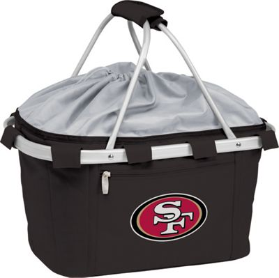 Picnic Time Picnic Time San Francisco 49ers Metro Basket San Francisco 49ers Black - Picnic Time Outdoor Coolers