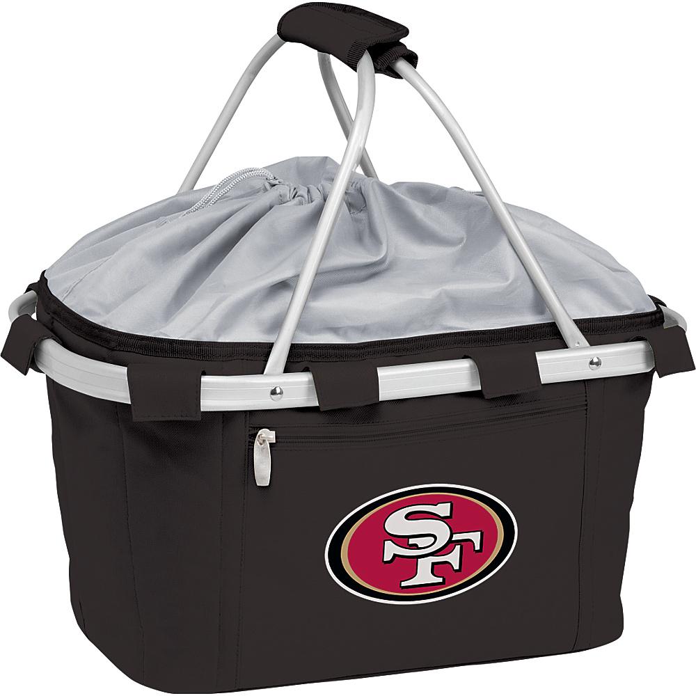 Picnic Time San Francisco 49ers Metro Basket San Francisco 49ers Black - Picnic Time Outdoor Coolers - Outdoor, Outdoor Coolers