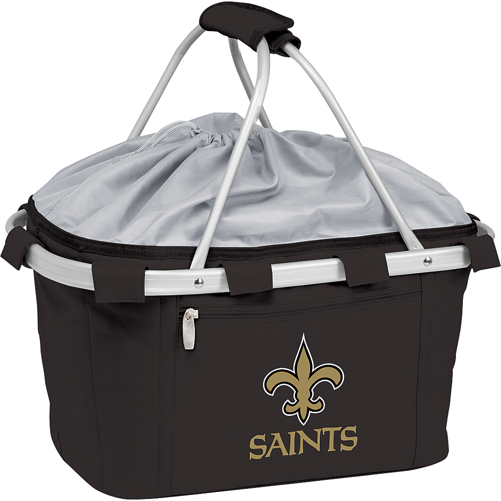 Picnic Time New Orleans Saints Metro Basket New Orleans Saints Black - Picnic Time Outdoor Coolers - Outdoor, Outdoor Coolers