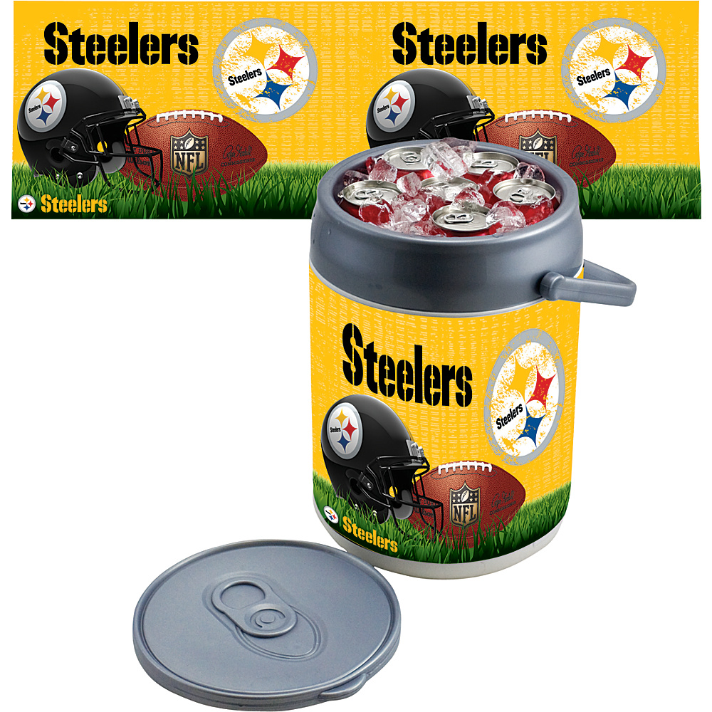 Picnic Time Pittsburgh Steelers Can Cooler Pittsburgh Steelers - Picnic Time Outdoor Coolers - Outdoor, Outdoor Coolers
