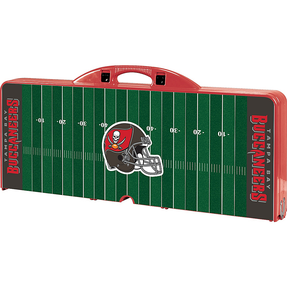 Picnic Time Tampa Bay Buccaneers Picnic Table Sport Tampa Bay Buccaneers Red - Picnic Time Outdoor Accessories - Outdoor, Outdoor Accessories