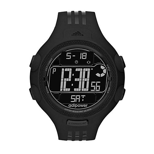 adidas originals Watches Adidas Performance Adipower TR Black with Black - adidas originals Watches... (10218819 ADP3121-Black) photo