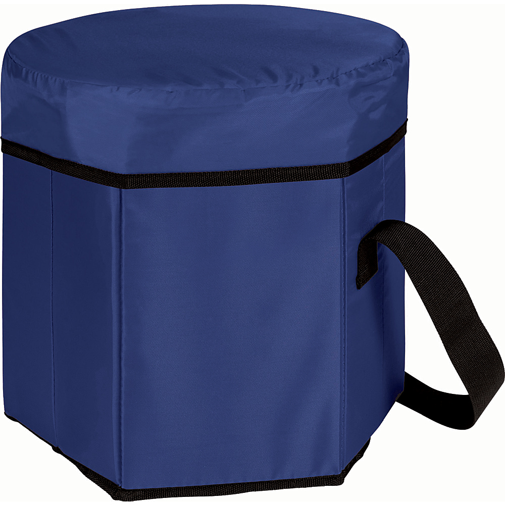 Picnic Time Bongo Cooler Navy Blue - Picnic Time Outdoor Coolers - Outdoor, Outdoor Coolers