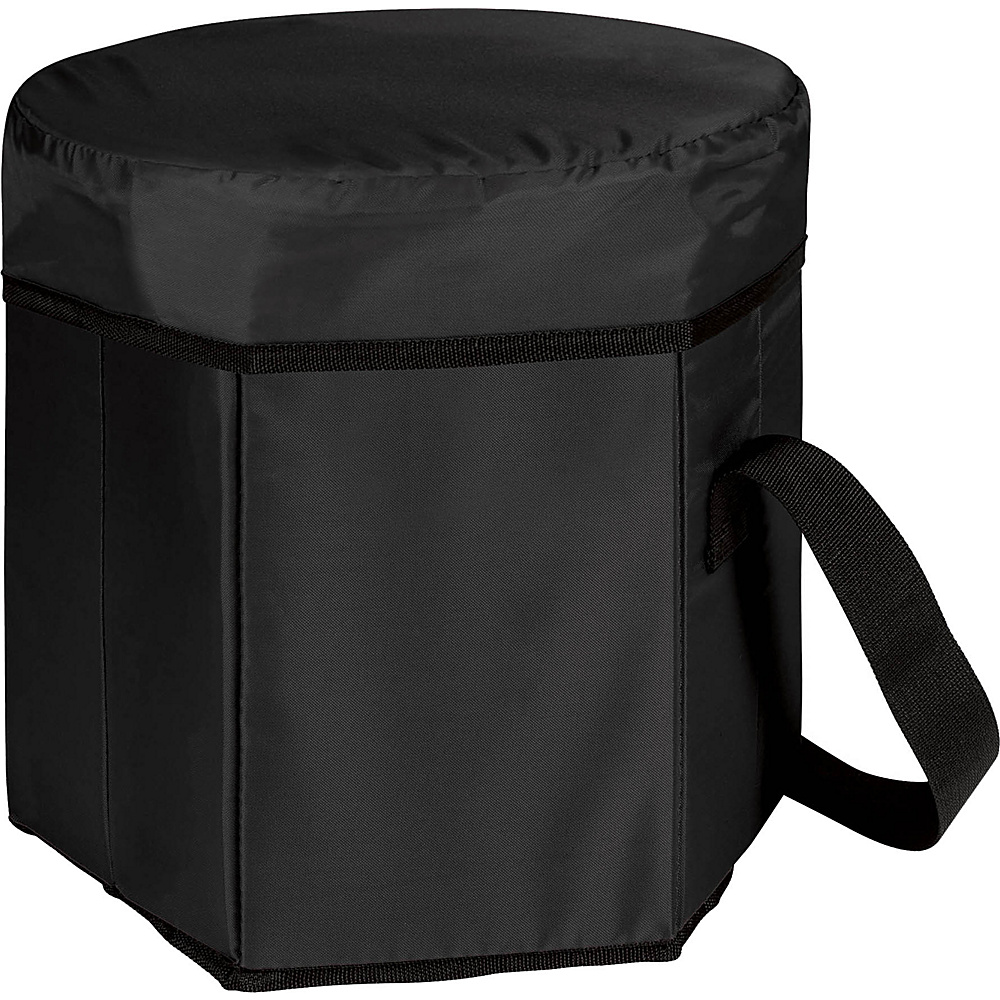 Picnic Time Bongo Cooler Black - Picnic Time Outdoor Coolers - Outdoor, Outdoor Coolers