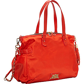Easy Everyday Nylon Lauryn Convertible Satchel Hazy Summer