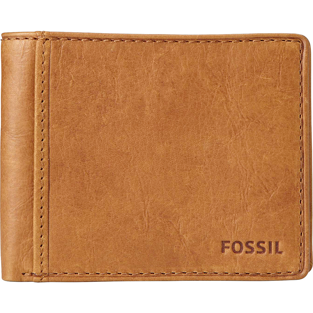 Fossil Ingram Traveler Wallet Cognac Fossil Men s Wallets