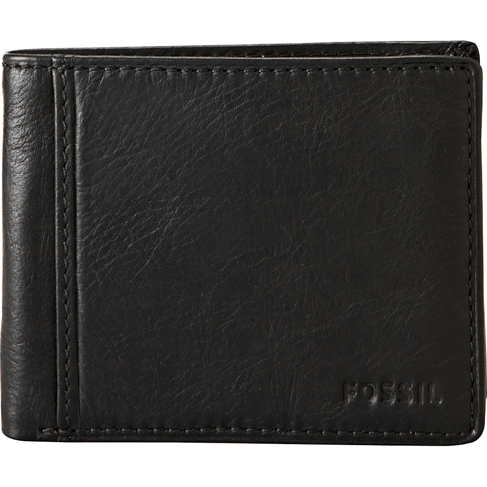 Fossil Ingram Traveler Wallet Black - Fossil Mens Wallets - Work Bags & Briefcases, Men's Wallets