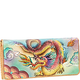 Accordion Flap Wallet Imperial Dragon