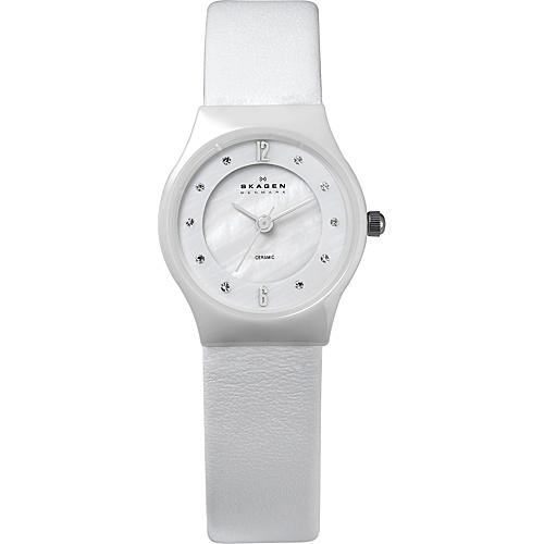 Skagen White Label White - Skagen Watches (10223666 233XSCLW-White) photo