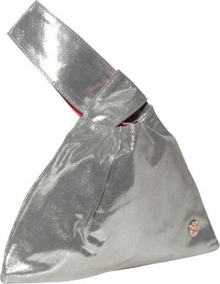 TOKEN The Ritz Hand Bag Metal Silver - TOKEN Leather Handbags