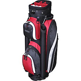 EX-350 Cart Bag- Black Red Black Red