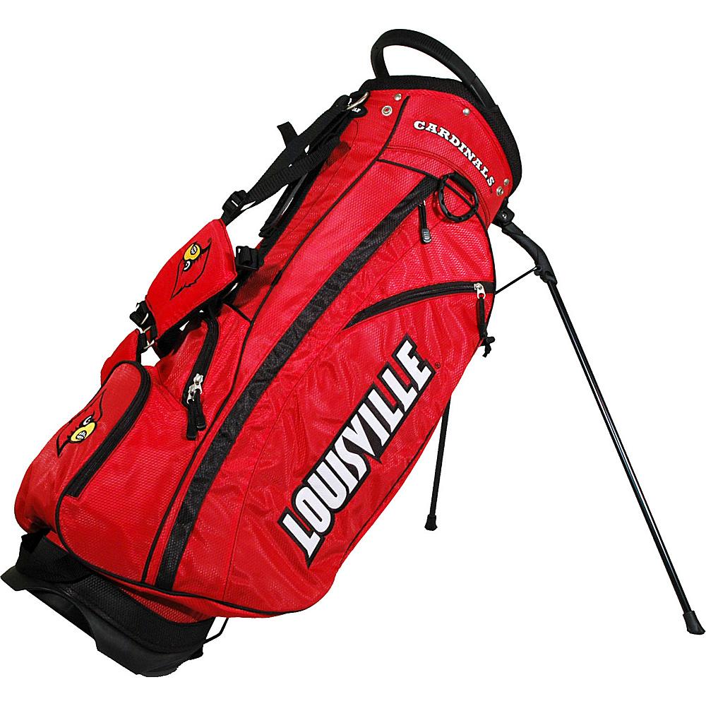 Team Golf USA NCAA University of Louisville Cardinals Fairway Stand Bag Red - Team Golf USA Golf Bags