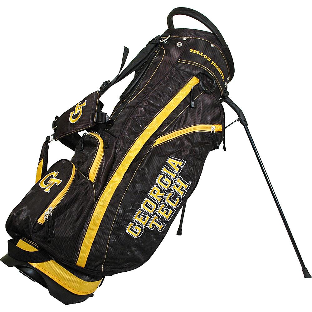 Team Golf USA NCAA Georgia Tech University Yellow Jackets Fairway Stand Bag Black - Team Golf USA Golf Bags