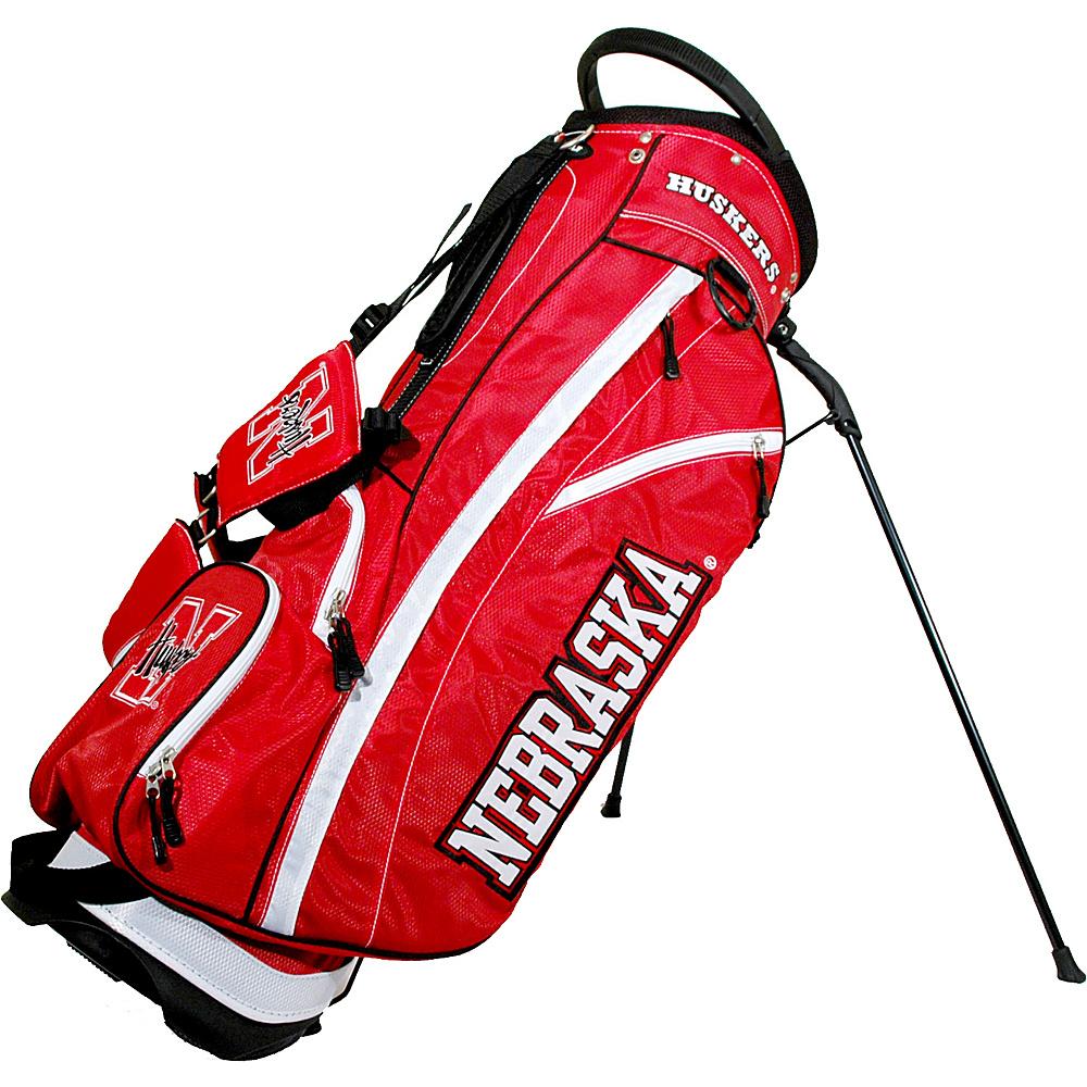 Team Golf USA NCAA University of Nebraska Cornhuskers Fairway Stand Bag Red - Team Golf USA Golf Bags