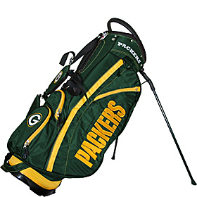 NFL Green Bay Packers Fairway Stand Bag Black