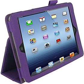 Dual Station Folio Case for iPad mini Purple