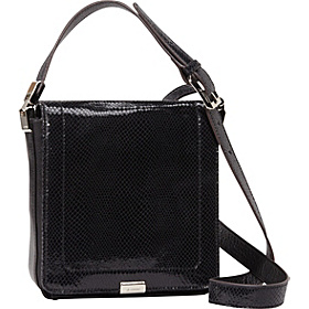 Harper Flap Crossbody Black