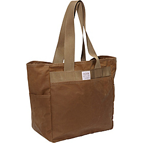 Tin Cloth Tote Bag Tan