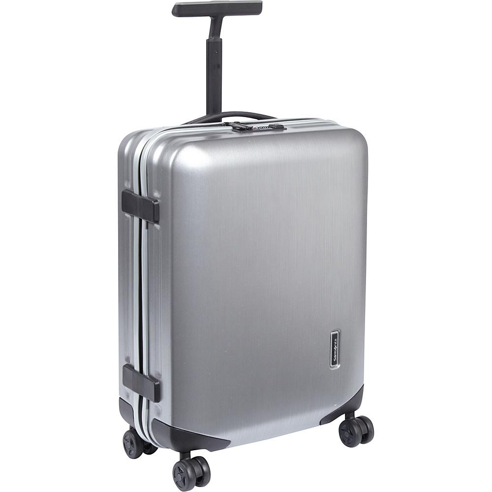 """Samsonite Inova Carry-On Hardside Spinner Luggage - 20"""" Metallic Silver - Samsonite Hardside Carry-On"""