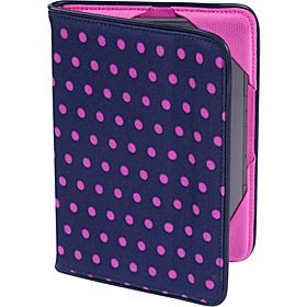 Slim Cover - For Kindle Touch (all models and latest generation Kindle) Mini Dot Navy