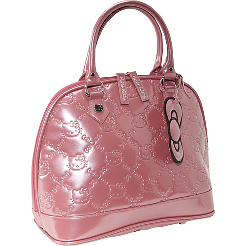 Loungefly Hello Kitty Mauvewood Embossed Bag Mauvewood - Loungefly Junior Handbags