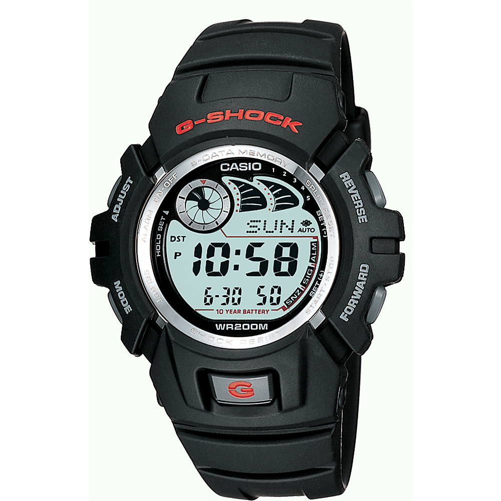 Casio Men's G Shock Watch Black - Casio Watches