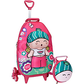 Qui Qui Melly Roller Bag Pink