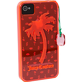 Gelli iPhone Case W/Palm Tree Non Glitter 4/4S Mandarin