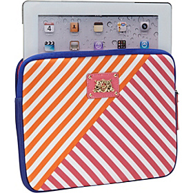 Neoprene Anchor With Stripe iPad Case Regal