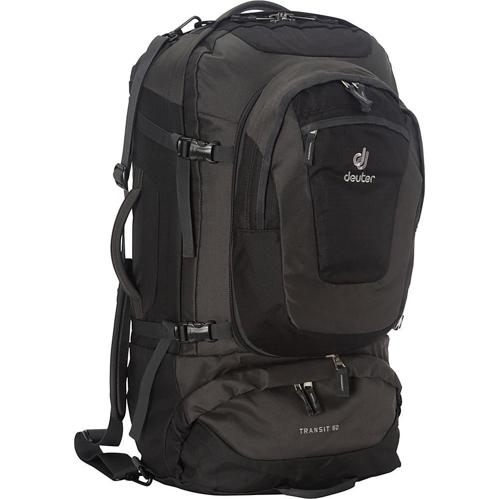Deuter Transit 50 Black/Anthracite - Deuter Travel Backpacks