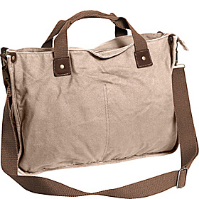 Canvas Casual Messenger Bag Khaki