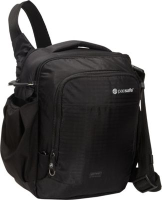 Pacsafe CamSafe Venture V8 Anti-Theft Camera Shoulder Bag Black - Pacsafe Camera Accessories