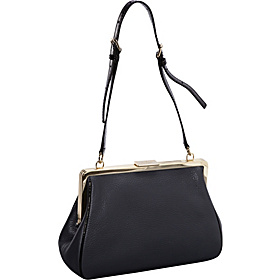 Parker Place Claribel Frame Shoulder Bag Asphalt