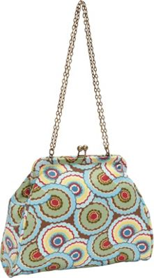 Amy Butler for Kalencom Nora Clutch with Chain Dancing Umbrellas - Amy Butler for Kalencom Women's Wallets