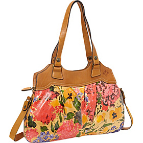 Veg Tan Napoli Shoulder Bag Pristine Print