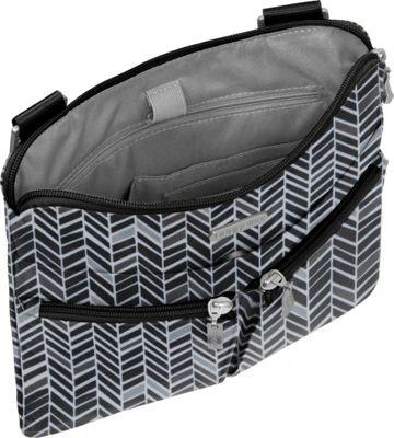 baggallini Horizon Crossbody Charcoal - baggallini Fabric Handbags