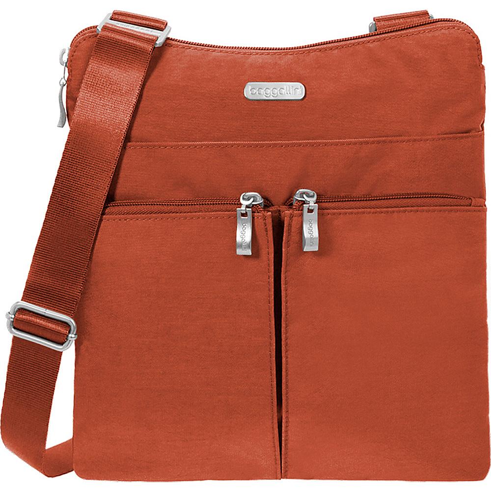 baggallini Horizon Crossbody Adobe - baggallini Fabric Handbags - Handbags, Fabric Handbags