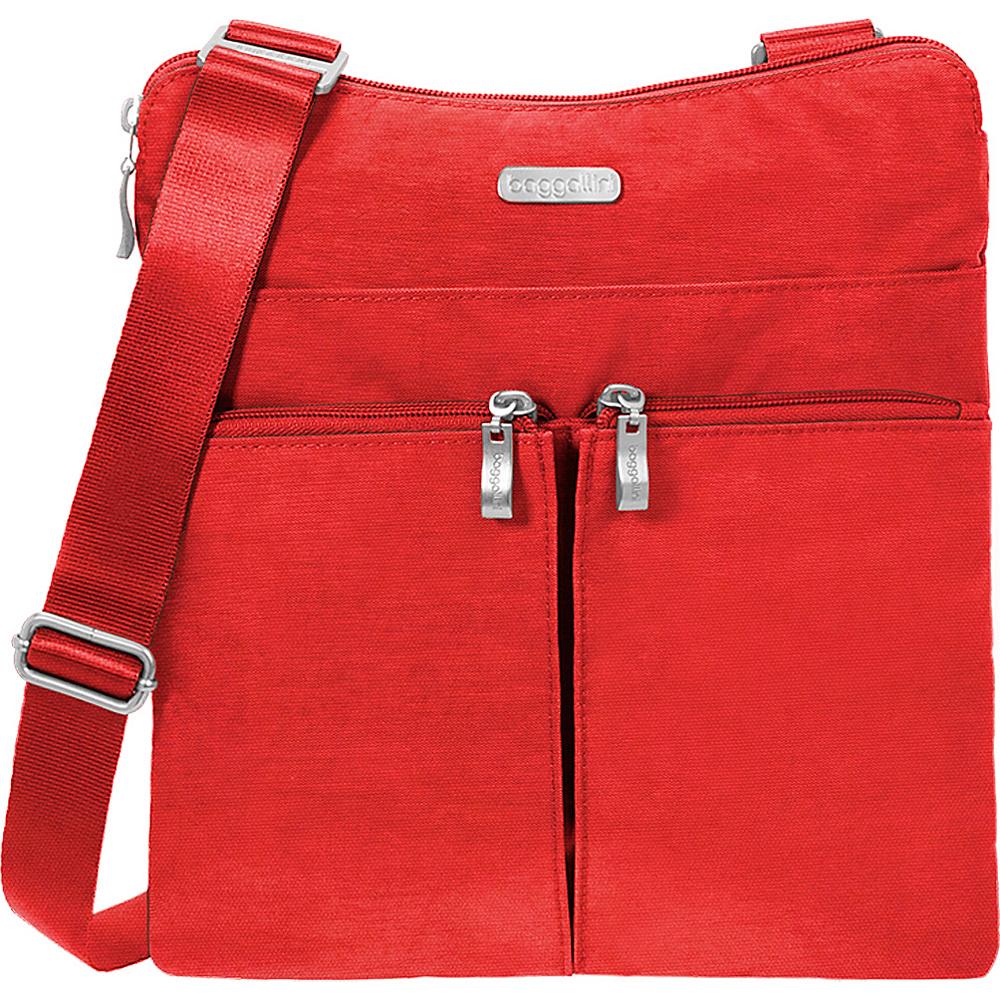 baggallini Horizon Crossbody Hibiscus - baggallini Fabric Handbags - Handbags, Fabric Handbags