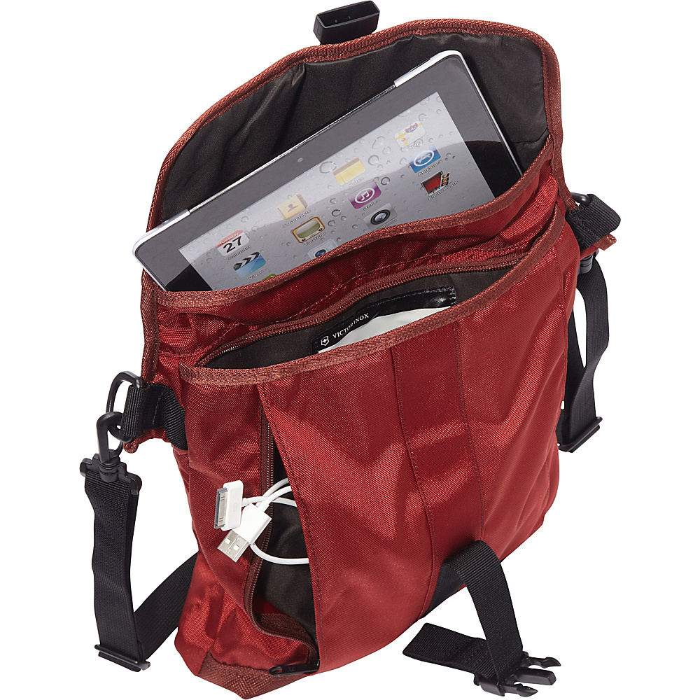 "Victorinox Altmont 3.0 Flapover Digital Bag - 13"" Red - Victorinox Other Men's Bags"