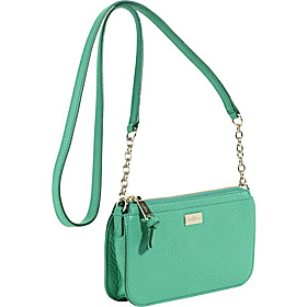 Village Zip Top Crossbody Green Thumb
