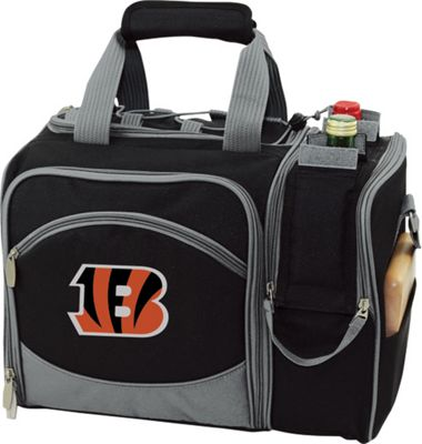 Picnic Time Picnic Time Cincinnati Bengals Malibu Insulated Picnic Pack Cincinnati Bengals - Picnic Time Outdoor Coolers