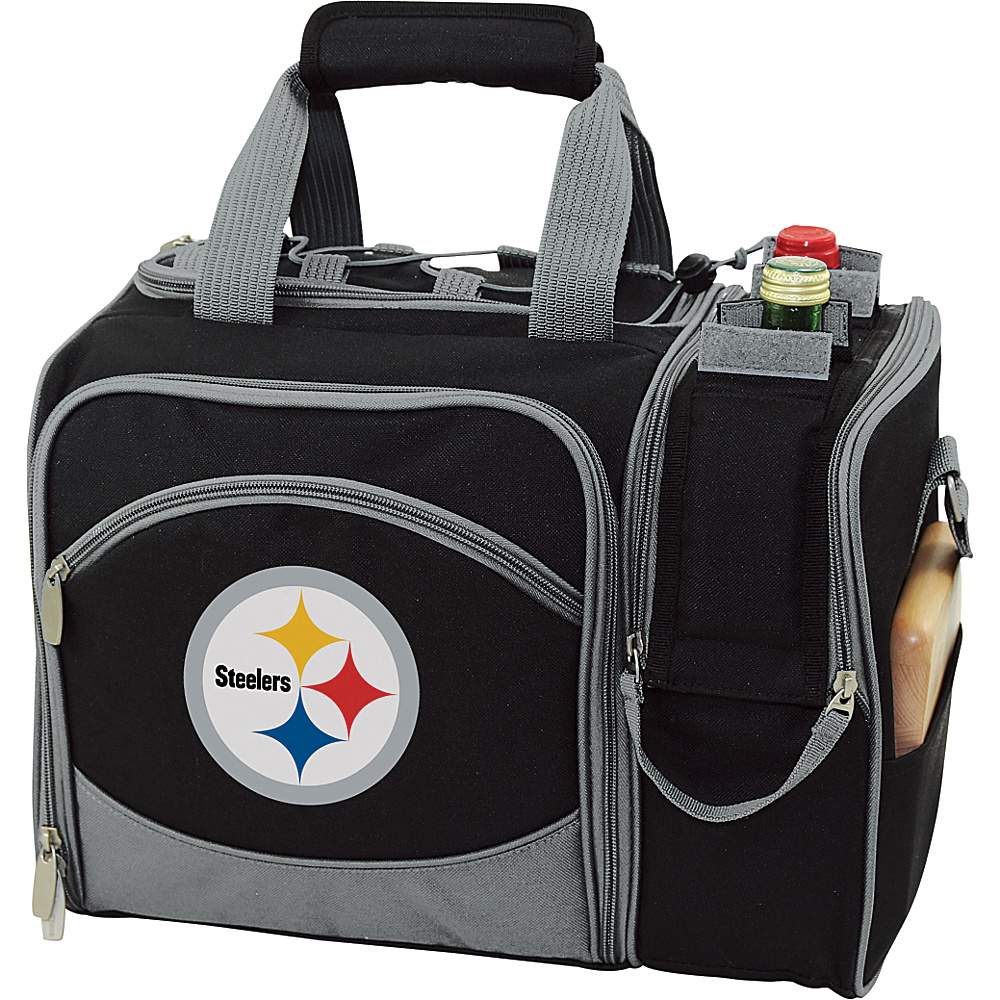 Picnic Time Pittsburgh Steelers Malibu Insulated Picnic Pack Pittsburgh Steelers - Picnic Time Outdoor Coolers - Outdoor, Outdoor Coolers
