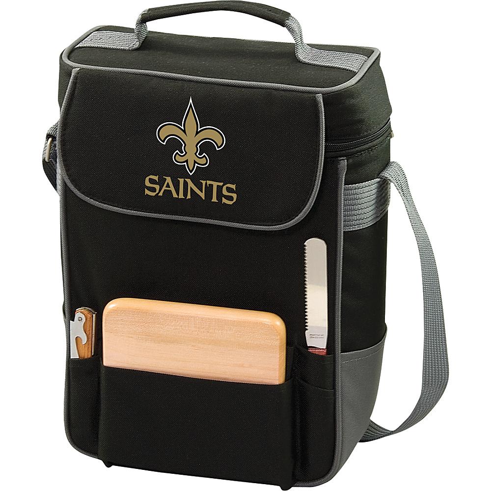 Picnic Time New Orleans Saints Duet Wine & Cheese Tote New Orleans Saints - Picnic Time Outdoor Coolers - Outdoor, Outdoor Coolers