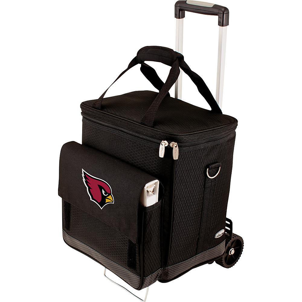 Picnic Time Arizona Cardinals Cellar w/Trolley Arizona Cardinals - Picnic Time Outdoor Coolers - Outdoor, Outdoor Coolers