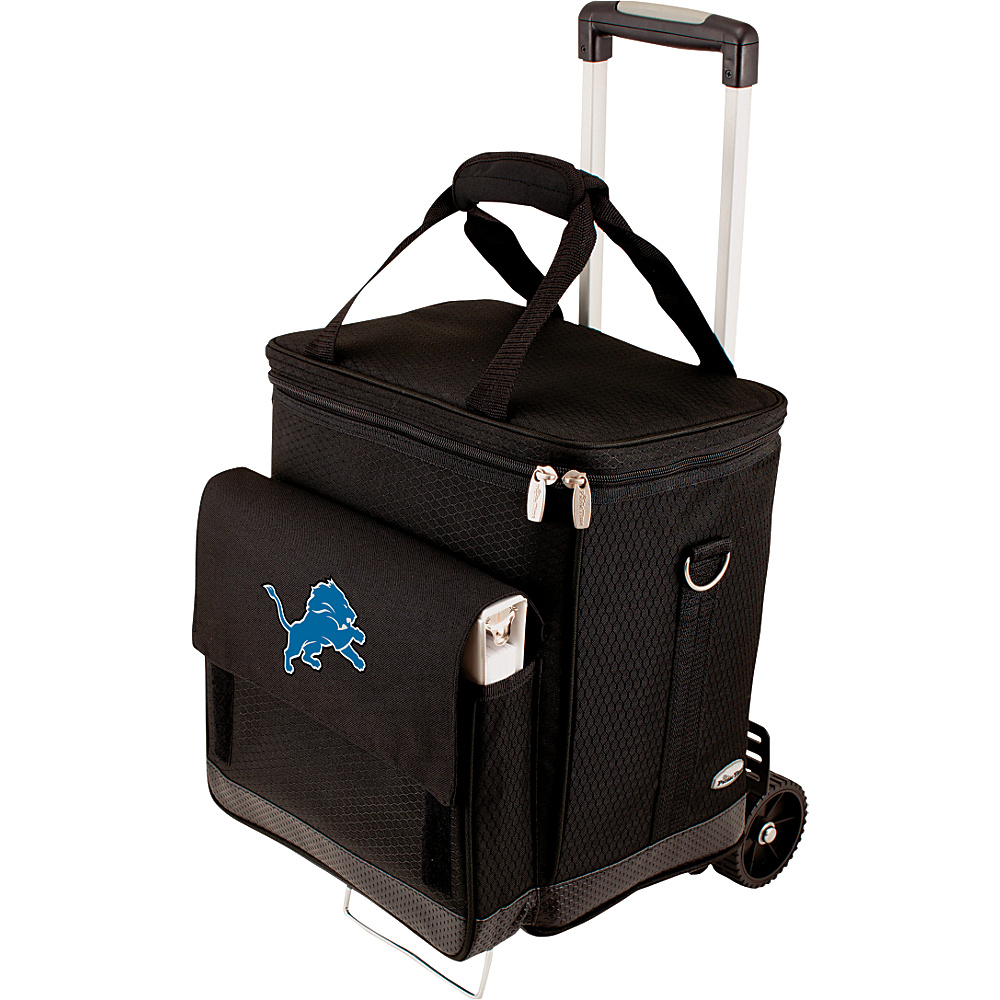 Picnic Time Detroit Lions Cellar w/Trolley Detroit Lions - Picnic Time Outdoor Coolers - Outdoor, Outdoor Coolers